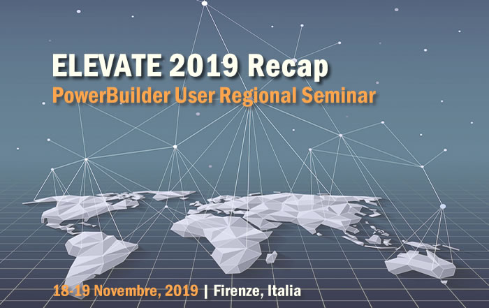 ELEVATE 2019 Recap – PowerBuilder User Regional Seminar