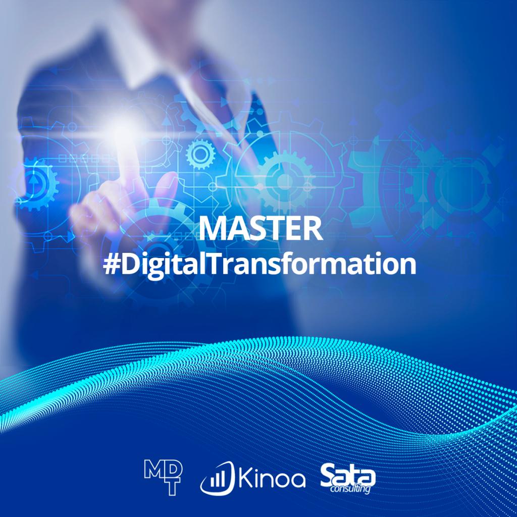 Sata Consulting & Kinoa per Master in Digital Transformation