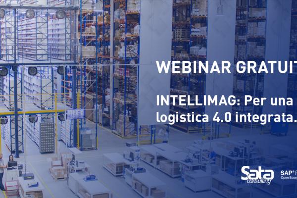 """Webinar gratuito: """"Intellimag: il software per la gestione del magazzino per una logistica 4.0"""""""