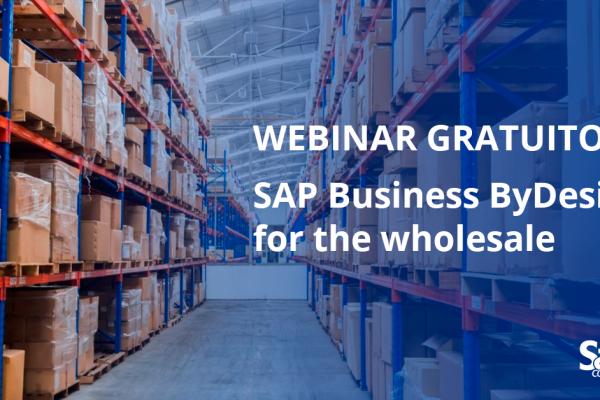 """Webinar gratuito: """"SAP Business ByDesign: rendi la tua azienda ancora più intelligente"""""""