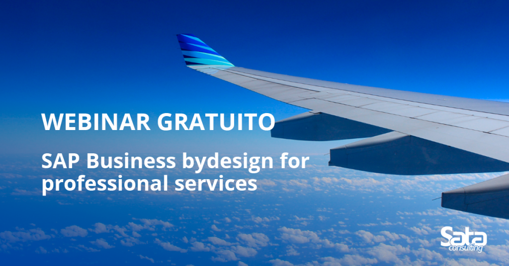 "Webinar gratuito: ""SAP Business ByDesign for Professional Services"""